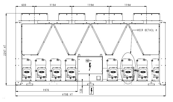 groupe froid eau glac e carrier aquasnap 30rb 432 place de marche de mat riel lectrique pro d. Black Bedroom Furniture Sets. Home Design Ideas