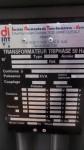 Transfo huile 160 KVA 15/20 Kv / 410 V